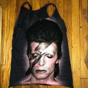 Tops - David Bowie tank top